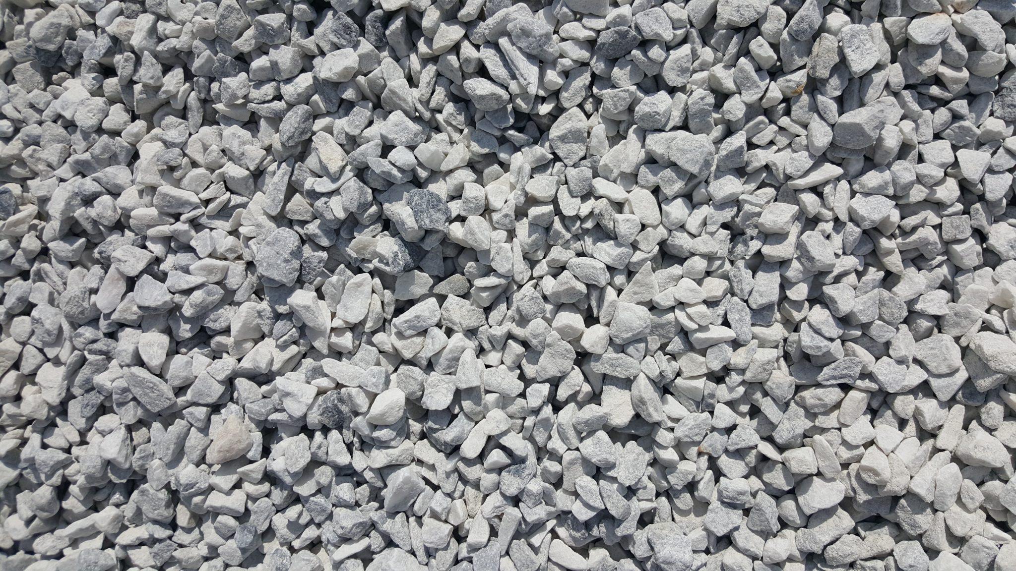 """White Stone 3/4"""""""